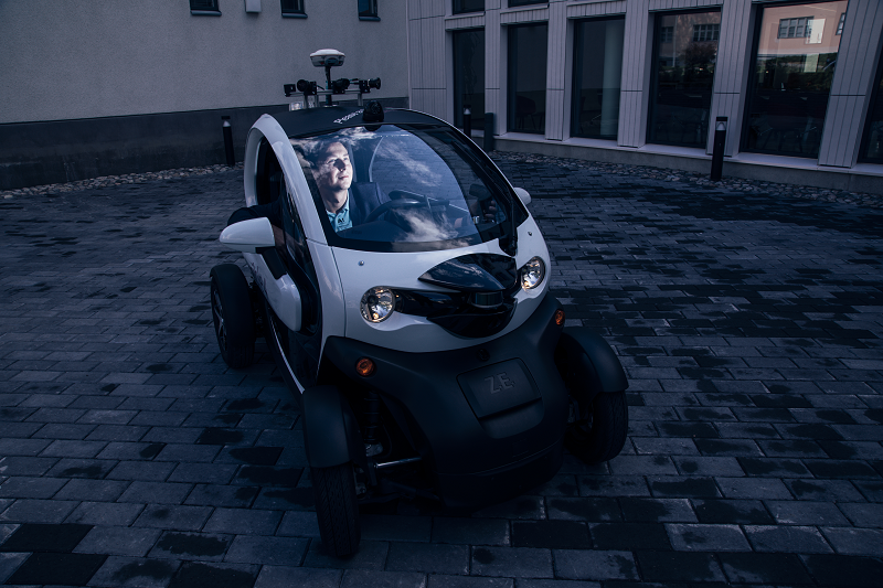 Robot cars are now being tested in traffic, which is only legal in a few countries. Finland is one of them.