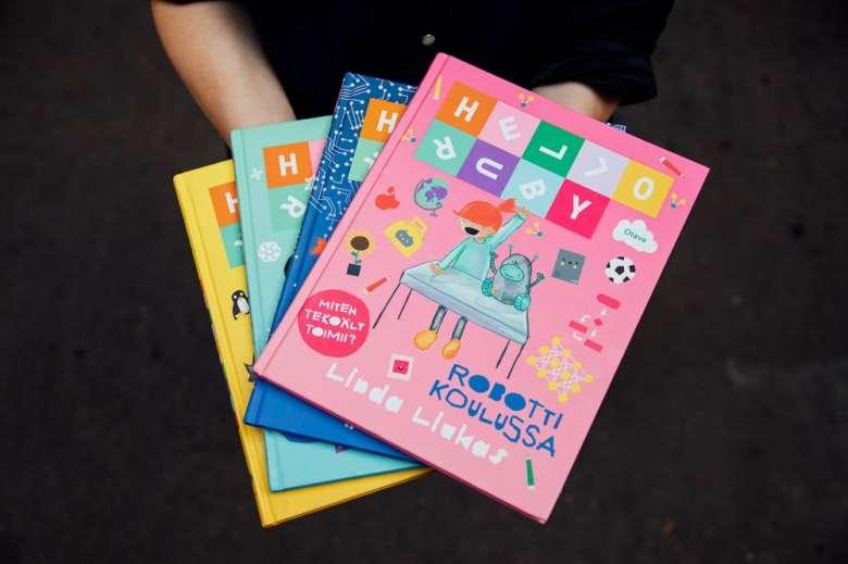 Linda Liukas's Hello Ruby book series has been translated into 25 languages.