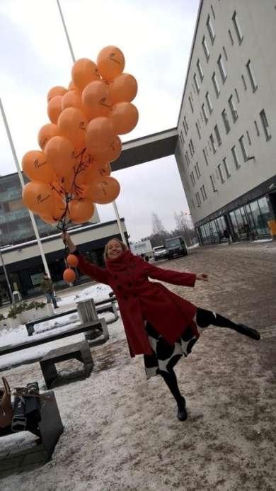 """We see design as a process,"" describes project manager of Live Baltic Campus Päivi Keränen."