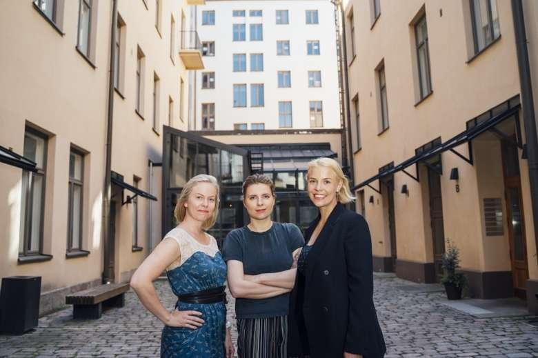 "Someturva's founding trio Jenny Rontu, Suvi Uski and Minttu Salminen founded the company in 2017. ""We felt that legislative solutions were needed on social media."""